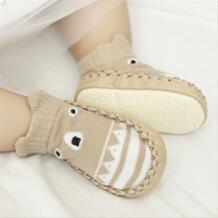 Детские носки-тапочки, нескользящая обувь с мягкой подошвой, дышащие хлопковые носки с животными, носки для маленьких девочек с резиновой подошвой, детские сапоги Buddinfant 32816877168