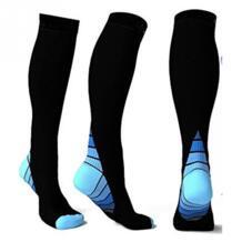 Спортивные Компрессионные носки регби Soccor атлетика носить бег колено высокие носки медсестры голени шины полета путешествия аксессуар No name 32898822411