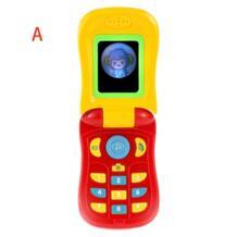 1 шт. детские игрушки музыкальная электронная машина смартфон со звуком обучения Развивающие игрушки для детей Детские игрушки телефоны лучший подарок No name 32807598088