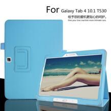Ультра тонкий Фолио тонкий PU Кожа Стенд книги чехол для samsung Galaxy tab 4 10,1 дюймов T530 T531 T535 Linheimei 32355180783