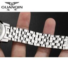 Часы браслет 100% браслет из нержавеющей стали, часы из нержавеющей стали ремешок для часы -in Ремешки для часов from Ручные часы on Aliexpress.com | Alibaba Group GUANQIN 32271032199