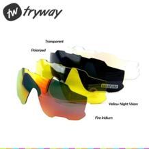 Новые поляризованные линзы красный/синий/зеленый uv400 JBR объектив солнцезащитные очки для велоезды gafas очки MYOPIA оправа Спорт на открытом воздухе oculos de sol masculino Tryway 32850810390