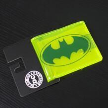DC Marvel Comics Для мужчин прозрачный Женские Кошельки Бэтмен ПВХ держателя карты Лидирующий бренд доллар Сумки Повседневное кошелек мужской женский подарок бумажник MIWIND 32477599993