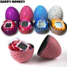 Бесплатная Прямая доставка многоцветное яйцо динозавра Виртуальная кибер цифровая игрушка для домашних животных тамагоциты цифровая электронная игрушка для домашних животных подарки для детей HAPPY MONKEY 32841008373