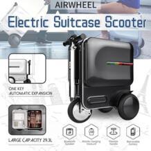 Новый дизайн 29,3л путешествия носить бизнес электрическая сумка в виде скутера Алюминиевый Чемодан с колеса скейтборда прокатки тележка чехол No name 33043457500