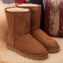 2018Hot продажи 100% реального овчины бренд классический Снегоступы для женские зимние ботинки оптом и в розницу Бесплатная доставка Прямая доставка MIYAGINA 32791963584