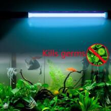 Для 2 выбор 15 Вт и 10 Вт 1.8 м IP68 Водонепроницаемый аквариума УФ-излучение погружные УФ Стерилизатор лампы Великобритания Plug No name 32661876862