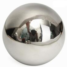 Высокая яркость блестящая Сфера из нержавеющей стали зеркальная сфера полый шар 15 см/12 см/10 см/8 см/5,1 см домашнее украшение садового орнамента No name 32873515577