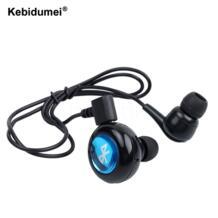 модное мини-гарнитура Bluetooth наушники беспроводные наушники ушной динамик Auriculares Handfree вызова (не могу слушать музыку) kebidumei 32375808843