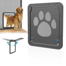 Новое поступление дверь для животных ворота ABS многофункциональные домашние магнитные двери собаки инновационные марлевые окна двери для кошки Маленькие Средние Большие Собаки No name 32839000974