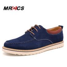 Mrccs Демисезонный классический Дизайн мужская обувь на платформе, замши Кружева повседневная обувь повседневные Модные Стиль синий мужчины лодка обуви No name 32657647262