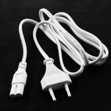 Новое поступление Белый ЕС 2-зубец розетка vde Мощность линии адаптер переменного тока питания для ноутбука Мощность провод кабель шнур 2 Pin Черный 1,5 м оптовая продажа JORINDO 32595093250