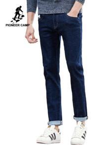 Пионерский лагерь Новые прямые джинсы для мужчин брендовая мужская одежда мужские джинсовые штаны модные повседневные наивысшего качества мужские брюки из денима 677188 Pioneer Camp 32764084322
