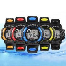 Лидер продаж унисекс цифровой электроники светодио дный LED Кварцевые Будильник день дата резиновый для спортивных часов для мужчин женщина новый дизайн 5RY5 6YL7 BLUELANS 32686273852