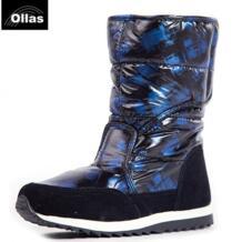 Для женщин Сапоги и ботинки для девочек модные зимние теплые ботинки брендовые зимние ботинки на платформе женские теплые сапожки 37-41 размер бесплатная доставка No name 32227792239