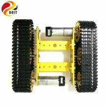DOIT металлический Танк модель робота гусеничный шасси автомобиля Diy трек обучения гусеничный/гусеничная платформа для Arduino-in RC-танки from Игрушки и хобби on Aliexpress.com | Alibaba Group SZDoit 32836678691