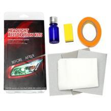 LEEPEE восстанавливает ясность налобный фонарь полировка Анти-Царапины фара реставрации Набор DIY УФ Защита для автомобиля лампа lense sikeo 32826361769