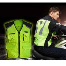 Бренд нерва мотоцикл ночной езды высокая видимость куртки мото зима Обувь с дышащей сеткой светоотражающий жилет безопасности для мужчин и женщин No name 32805937784