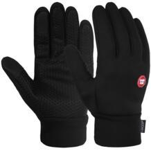 Vbiger черные зимние теплые перчатки ветрозащитные перчатки для холодной погоды толстые теплые варежки перчатки с сенсорным экраном с противоскользящим дизайном No name 32907467634