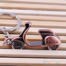 Мотоцикл Скутер брелок для ключей Классический 3D подвеска брелок творческий подарок 1VAF BLUELANS 32266060435