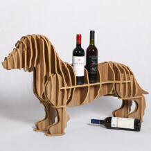 Высокая-конец sausage собака держатель вина дерево Мебель для дома Кофе стол tm007m No name 32591137713