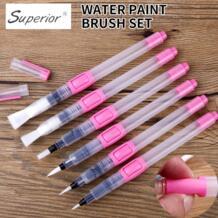 6 шт.. водяная щетка водяная краска набор кистей большой емкости Мягкий кисть для акварельной живописи ручка для начинающих чертеж товары для рукоделия BGLN 32837802126