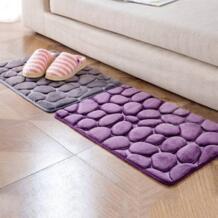 Высокое качество, Нескользящие коврики для ванной, массажные Нескользящие цветные, однотонные, лишуй, анти-Борцовский коврик ONE LIKE YOU 32805627563
