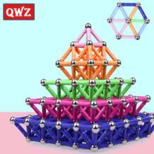 магнитные игрушки, металлические шарики, магнитные конструкторы, строительные блоки, строительные игрушки для детей, развивающие игрушки для детей, подарки QWZ 32922077609