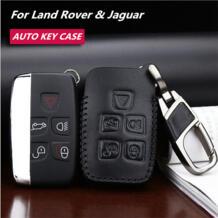 Модная коровья кожа Автомобильный ключ пакет крышка/ключ чехол держатель оболочки брелок аксессуары для Land Rover Range Rover Evoque/Jaguar LUNASBORE 32710807521