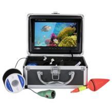 7 цветов цифровой ЖК-дисплей 1000tvl эхолот HD DVR Регистраторы Водонепроницаемый Рыбалка Подводные камеры для рыбы finder Портативный 30 м SANGEMAMA 32798837420