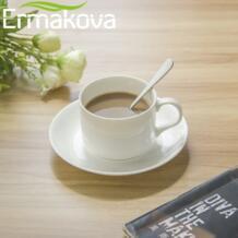 Ермакова набор из 8 ложка для эспрессо 4 дюйма мини Кофе ложка маленькая ложка для ресторана на десерт Нержавеющаясталь Чай закуска No name 32837531788