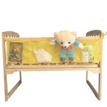 Детская кровать висит сумка для хранения Детская Кроватка Висит Сумки для хранения Пеленальные принадлежности Бамперы для автомобиля организатор пеленки хранения кровать бампер cx873044 No name 32829386210
