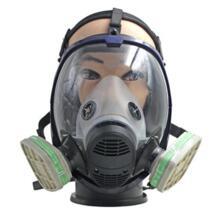 Anti-пыль аммиака газовой безопасности Полнолицевая маска респиратор противогаз с фильтром для промышленности живопись брызг No name 32879909760