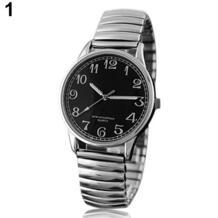 Пару любитель смотреть Для мужчин Для женщин Дизайн Винтаж сплава аналоговые кварцевые Эластичный наручные часы 1L3A 3U9O No name 32327915328