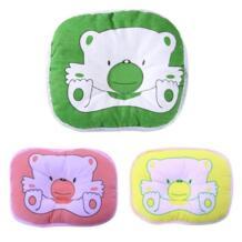 1 шт. Высокое качество новорожденных младенческой мягкий шеи Поддержка принт медведь голову Форма для терапии формирование подушка alloet 32913284077