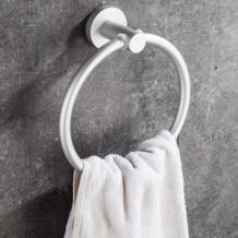 LIYIMENG Полотенца Бар Рука Полотенца кольцо Ванная комната Организатор стойки Кухня срок хранения Настенный Полотенца полированной стойки держатель No name 32879581106