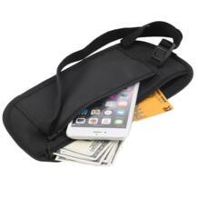 Дорожная сумка со скрытой молнией на талии Компактная сумка для безопасности для бега/Спортивный Пояс Бесплатная доставка DEDOMON 32808600872