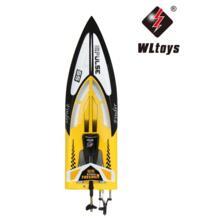 WLtoys wl912 2.4 ГГц Радио Дистанционное управление 4ch высокое Скорость RTF 24 км/ч гонки RC лодка с само превращение Функция игрушка для детей GREAT POWER STAR 32838249287