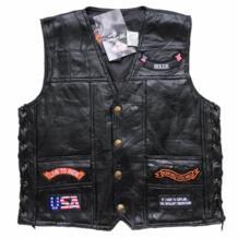 Мужские пояса из натуральной кожи в стиле ретро мотоциклетный жилет Флаг США Орел байкер вязаные жилеты для женщин овчины вышитые GPFORTYSIX 32949246169