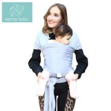 EGMAO/удобный модный детский слинг, мягкий натуральный слинг, рюкзак для малышей 0-3 лет, дышащий хлопковый чехол для кормления EGMAO BABY 32843413464