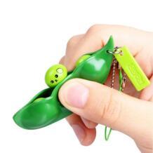 Забавные бобы сжимаемая Игрушка антистресс мягкость бобы Новинка кляп игрушки креативные экструзионные горох забавные гаджеты декомпрессионные игрушки Haifeng 32887868873
