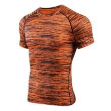 Для мужчин короткий рукав спортивная компрессионная футболка Running рубашка быстросохнущая Баскетбол Футбол Обучение Футболка спортивная одежда LIXADA 32861045178