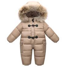 Официальный магазин , зимняя куртка для девочек, пальто и верхняя одежда, 90% утиный пух, детский зимний комбинезон, теплая детская зимняя одежда OrangeMom 32844720089