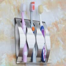 Высокое качество нержавеющая сталь ванная комната Бритва для зубных щеток держатель настенный держатель для ванной комнаты стенд прилипания держатель для зубной щетки suppies No name 32825492323