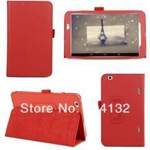 100 шт. по DHL FedEx, хорошее качество личи раскладной стенд PU чехол для LG G Pad 8,3 V500 случаях No name 1503482657