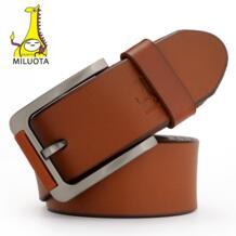 2015 100% натуральной кожаный ремень женский бренд мода металл пряжкой ремень для мужчины-in Мужские ремни from Аксессуары для одежды on Aliexpress.com | Alibaba Group MILUOTA 32394687906