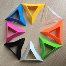 10 шт./лот кубическая подставка компактный разноцветный Пластик быстрые магические кубики базовый держатель рамки для малышей и детей постарше Игрушки для раннего обучения Lefun 32764938357