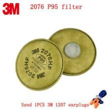 3 м 2076 P95 противогаз Фильтр подлинной безопасности 3 м фильтр губка против фтористый водород кислых газов частиц фильтр No name 32824441195