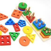 Раннего детства детские развивающие игрушки деревянные No name 32871715818