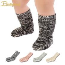 Mix Цвет хлопок Детские носки для девочек и мальчиков детские носки ботильоны Длина толстые зимние детские Calcetines 1 пара для От 0 до 4 лет No name 32493236103